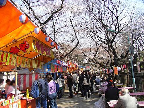 「上野恩賜公園 花見 屋台」の画像検索結果