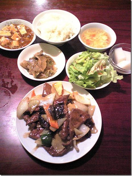 激安!700円で満腹ランチ@東僑飯店 浅草橋