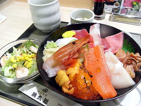海鮮丼セット 全体