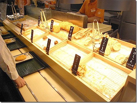 天ぷらアラカルト!@讃岐うどん はなまる 仲御徒町店