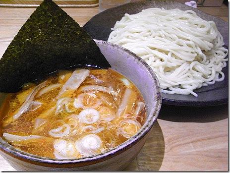 流行のつけ麺を食べに!@つけ麺家 利平 浅草